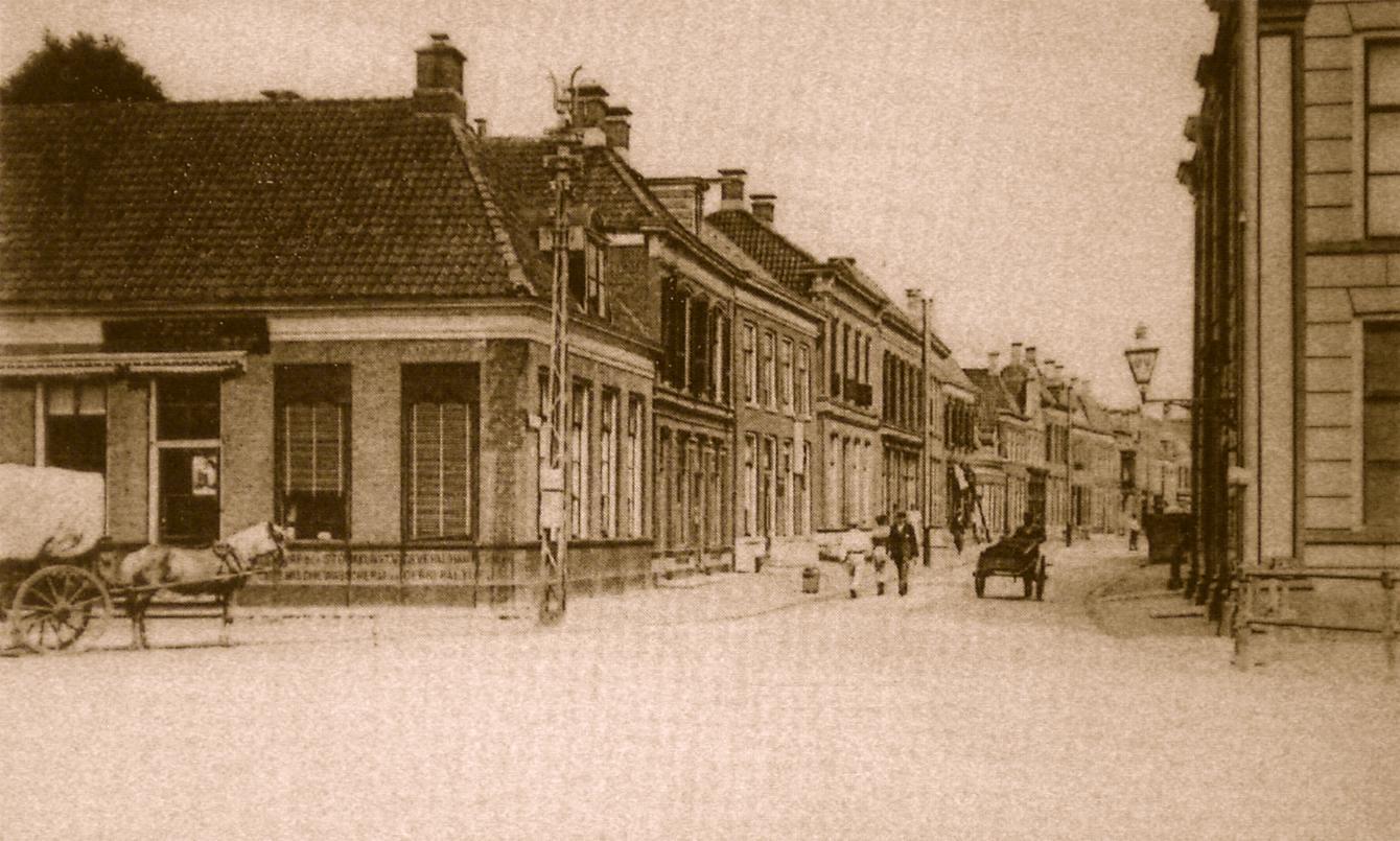 Almelo grootestraat oude eind rond 1900 - Jaar oude meisje kamer foto ...
